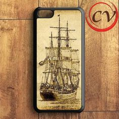 Sailing Ship Art iPhone 5C Case