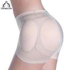 05257dea5299e TOPMELON Waist Trainer Butt Lifter Control Pants Shapewear Body Shaper High  Waist 4pcs Sponge Pads Padded