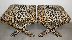 Custom X Benches - Design Your OWN to Suit Your Space