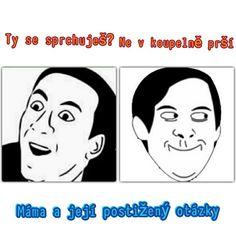 Klasická máma💧 Meme Faces, Jokes, Lol, Humor, Facebook, Funny, Husky Jokes, Humour, Memes