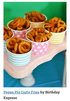 Easy, zero stress ideas for a DIY Peppa Pig party. Lots of ideas for food and snacks here! Easy, zero stress ideas for a DIY Peppa Pig party. Lots of ideas for food and snacks here! Brownie Bites, Cupcakes, Snacks, Food And Drink, Barn, Birthday Bash, Birthday Kids, Third Birthday, Pink Birthday Food