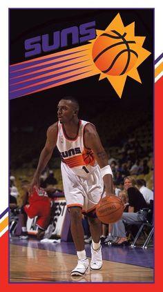 Penny Hardaway, Phoenix Suns, Basketball Court