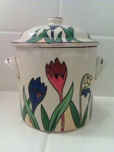 Crocus Ware Preserve Pot