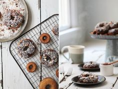 Almond Flour Donuts - lovely! (gf & df)