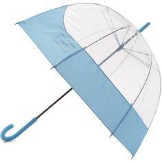 Hunter Boots Original Moustache Bubble Umbrella (4.215 RUB) ❤ liked on Polyvore featuring accessories, umbrellas, blue sky, bubble umbrella, transparent umbrella, see through umbrella and plastic umbrella