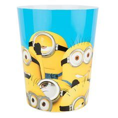 Despicable Me Minions March Wastebasket