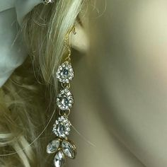 Our newest sparkling earrings in our Etsy shop.   Buy now by tapping or clicking on the red E tag.