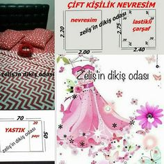 çift kişilik nevresim ölçüleri... Bed Sheet Curtains, Piercings, Home Collections, Sewing, Projects, Homes, Simple Eye Makeup, Hairstyle Man, Sewing Projects