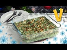 Spinach lasagne - Recipe by The Vegan Corner - YouTube
