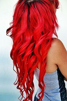 I want red hair again...