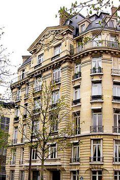 paris townhouses