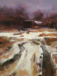 """Path to the Spring by Tibor Nagy, Oil on linen ~ 16"""" x 12"""""""