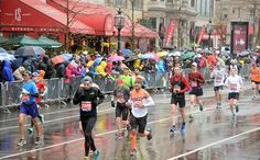 How to Dress for Rainy Runs  http://www.runnersworld.com/ask-coach-jenny/how-to-dress-for-rainy-runs
