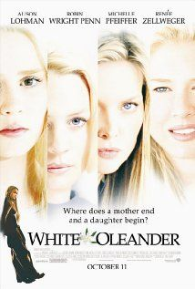 White Oleander (2002) Alison Lohman, Michelle Pfeiffer, Renee Zellweger, Robin Wright Penn.  The excellent portrayal of a girl's Life in foster homes...her mother is in prison.  Very Good Film.