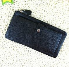 100 Handmade Leather Pures /Leather Wallet/women by loveleather1, $49.90