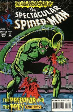 Peter Parker, The Spectacular Spider-Man # 215 by Sal Buscema