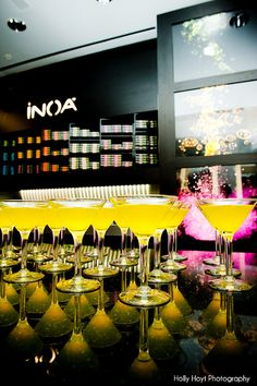 Spice up your hair color at the INOA color bar!