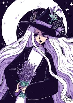 Lavender Witch by poliip on DeviantArt