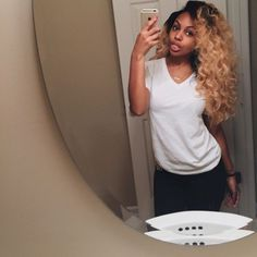 The important factor is the type of hair extensions available. You can have synthetics or human and natural hair. Weave Hairstyles, Pretty Hairstyles, Baddie Hairstyles, Curly Hair Styles, Natural Hair Styles, Wig Styles, Hair Laid, Love Hair, Virgin Hair