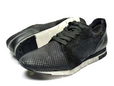 Paul Green 4253 sneakers - zwart