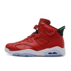 wholesale dealer 86d32 2f12f 2014 Air Jordan 6 (VI) Retro MVP Red Leather-Green For Sale Air Jordan 6 -  Nike official website Up to discount