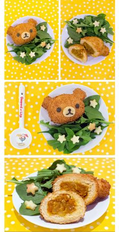 Rilakkuma Vegetarian Kare Pan (Japanese Curry Bread)