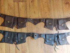 Leather Utility Belt by MahatmaLeather on Etsy