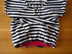 Dámské úpletové šaty s pružným pasem a kapsami | Two Piece Skirt Set, Skirts, Pants, Dresses, Fashion, Bags Sewing, Sewing Patterns, Trouser Pants, Vestidos