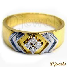 <p><strong>GENERALLY SHIPS BY EMS SPEED POST.</strong></p><br /><p><strong>FOR SHIPPING THROUGH FED EX, PLS ADD U$50.</strong></p><br /><p><strong></strong></p><br /><p>Diamond Gents Ring in Hallmarked Gold</p> [Rs    25,703] Antique Rings, Vintage Rings, Diamond Rings, Diamond Jewelry, Mens Ring Designs, Rs 25, Puzzle Ring, Gents Ring, Estate Rings