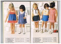 Page from the summer 1976 Mothercare catalogue