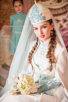 dress by circassian designer Madina Saralp #circassian #adiga #wedding #bridal