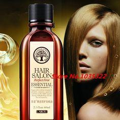 El Cuidado Del Cabello 60 ml Puro aceite de Argán marroquí Tratamiento de Aceite de Pelo Para El Cabello Seco de Los Tipos de Cabello y Tratamiento Del Cuero Cabelludo