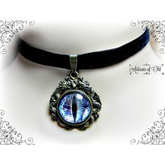 Dragon Eye Velvet Choker Or Creature Eye Necklace, CHOOSE COLOR ❤ liked on Polyvore featuring jewelry, necklaces, velvet choker necklace, velvet choker, velvet jewelry, choker necklace and choker jewelry