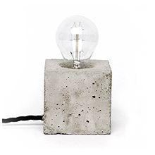 concrete lamp - kontrastform - freelance art director Henrik Karlsson