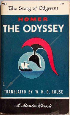 Robert Jonas, cover for The Odyssey