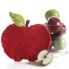 Apple Dishcloth...too sweet!