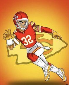 New Orleans Saints Football, Kansas City Chiefs Football, Giants Football, Football Uniforms, Football Art, Football Players, Football Wallpaper Iphone, Chiefs Wallpaper, Sports Drawings