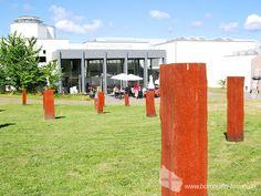 Skulptur im Skulpturenpark des BornholmerKunstmuseums - Moderne Kunst an der Ostküste Bornholms. #bornholmskunstmuseum #museum #kunst #bornholm #daenemark