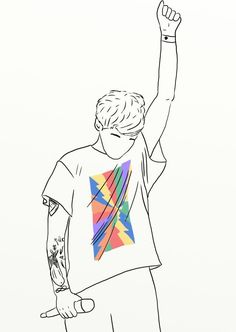 One Direction Drawings, One Direction Art, Imprimibles One Direction, Desenhos One Direction, Harry Styles Drawing, Louis Tomlinsom, Tumblr Stickers, Louis Williams, Larry Stylinson