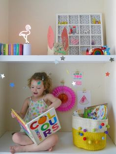 Home styling tips for spring for children's rooms - using bright accessories in kid's bedrooms