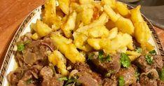 Ο καλύτερος μεζές για την παρέα με παγωμένη μπύρα ή κρασάκι !!!  Φτιάξτε το και θα με θυμηθείτε !!Συκώτι με καραμελωμένα κρ... Cheesy Garlic Breadsticks Recipe, Gf Recipes, Fingers, Beef, Cakes, Dishes, Cooking, Food, Meat