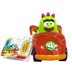 Yo Gabba Gabba Brobee Mobile Toy Car | ToyZoo.com