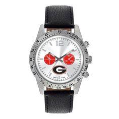 Georgia Bulldogs G Logo Letterman Watch For Men