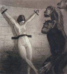 Alfred Kubin - One Women for All, 1900-01 by Aeron Alfrey, via Flickr