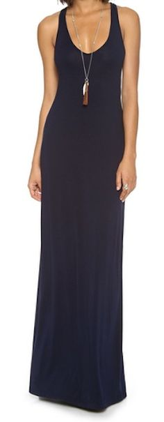 Classic maxi dress made with soft jersey http://rstyle.me/n/fypmqnyg6