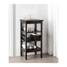 IKEA HEMNES shelving unit The open shelves give an easy overview and easy reach.