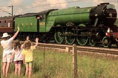 The National Railway Museum hopes that the loco will be running again by 2015 Flying Scotsman, National Railway Museum, Steam Railway, British Rail, Train Pictures, Steam Engine, Steam Locomotive, Fashion Men, Leather Fashion