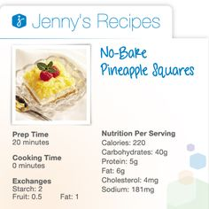 1000 images about jenny craig recipes on pinterest for No fat baking recipes