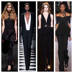 Paris Fashion Week. FW 2015. Esteban Cortazar, Haider Ackermann, Elie Saab, Stella McCartney. #stylecom