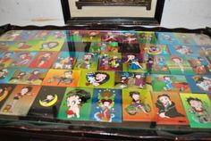 #coffee table makeover...betty boop shrine